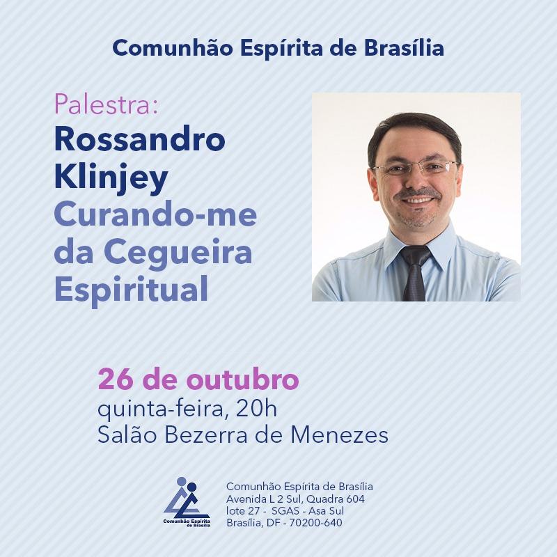 Rossandro Klinjey Na Comunhão De Brasília